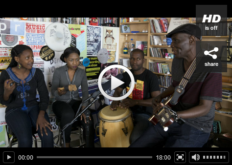 Oliver Mtukudzi Tiny Desk concert